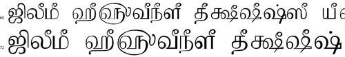 Tam Shakti 38 Tamil Font