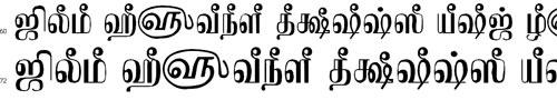 TAMu_Kadampari Tamil Font
