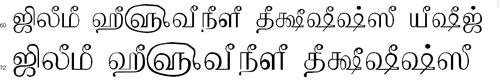TAMu Kalyani Tamil Font