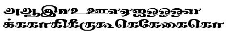 Sundaram-3811 Tamil Font
