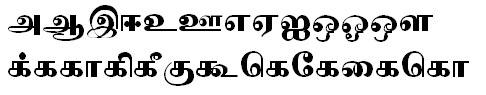 Tab Shakti 8 Tamil Font