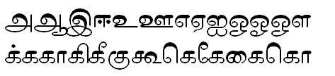 Tab Shakti 10 Tamil Font