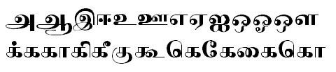 Tab Shakti-11 Tamil Font