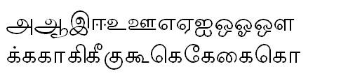 Tab Shakti-12 Tamil Font