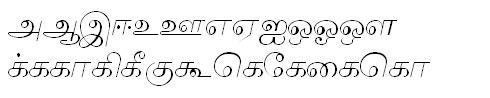 Tab Shakti-17 Tamil Font