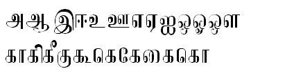 Tab Shakti-21 Tamil Font