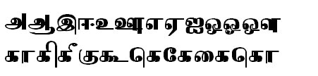 Tab Shakti-24 Tamil Font