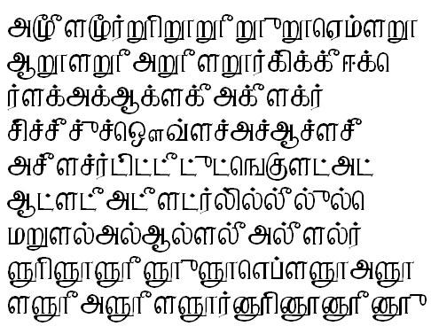 PonniTSC Tamil Font