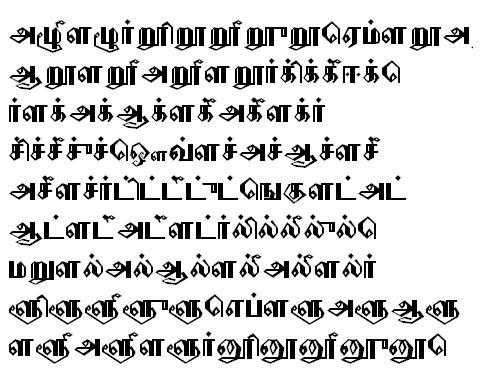 PorunaiTSC Tamil Font
