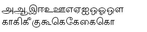 TAB-ELCOT-Tiruvarur Tamil Font