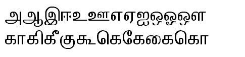 TAB-ELCOT-Tirunelveli Tamil Font