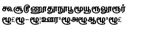GIST-TMOTChandra Tamil Font