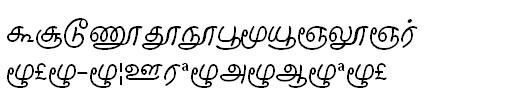 GIST-TMOTIlango Tamil Font