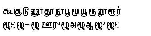 GIST-TMOTKannadasan Bangla Font