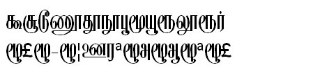 GIST-TMOTKalyani Tamil Font