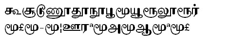 GIST-TMOTKomala Tamil Font