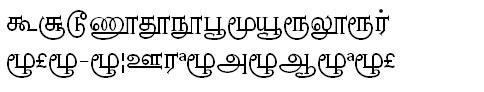 GIST-TMOTNambi Tamil Font