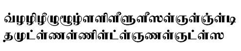 TAU_Elango_Asokan Tamil Font