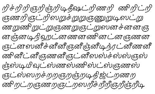 TAU_Elango_Juliee Tamil Font
