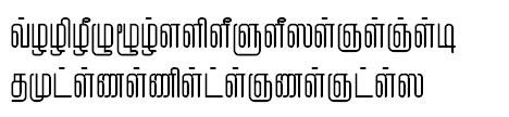TAU_Elango_Mohanam Tamil Font
