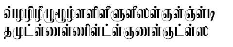 TAU_Elango_Kamban Tamil Font