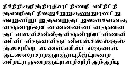 TAU_Elango_Neelampari Tamil Font