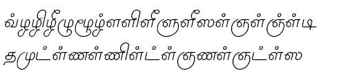 TAU_Elango_Priyanka Bangla Font