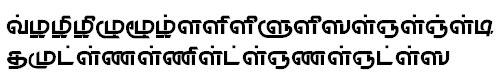 TAU_Elango_Rewathy Tamil Font