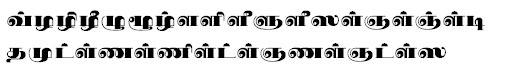 TAU_Elango_Sabari Tamil Font