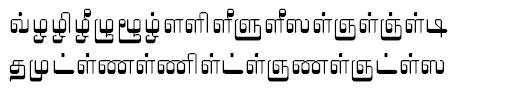 TAU_Elango_Vasuki Tamil Font