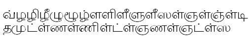 TAU-Barathi Tamil Font
