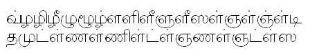 TAU_1_Elango_Barathi Tamil Font